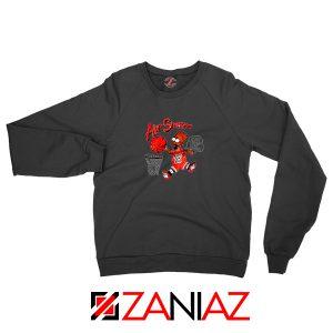 Air Simpson Black Sweater