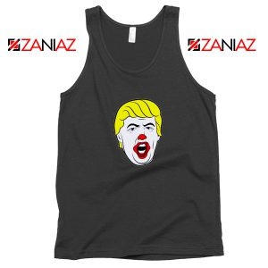 Anti Trump Clown Black Tank Top