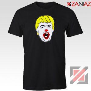 Anti Trump Clown Black Tshirt