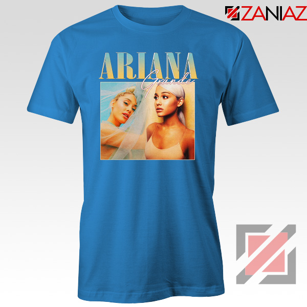 Ariana Grande 90s Blue Tshirt