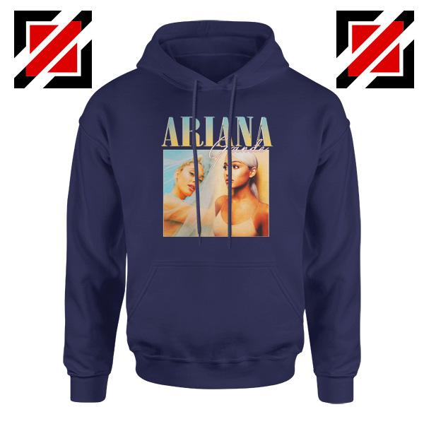 Ariana Grande 90s Navy Blue Hoodie