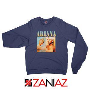 Ariana Grande 90s Navy Blue Sweatshirt