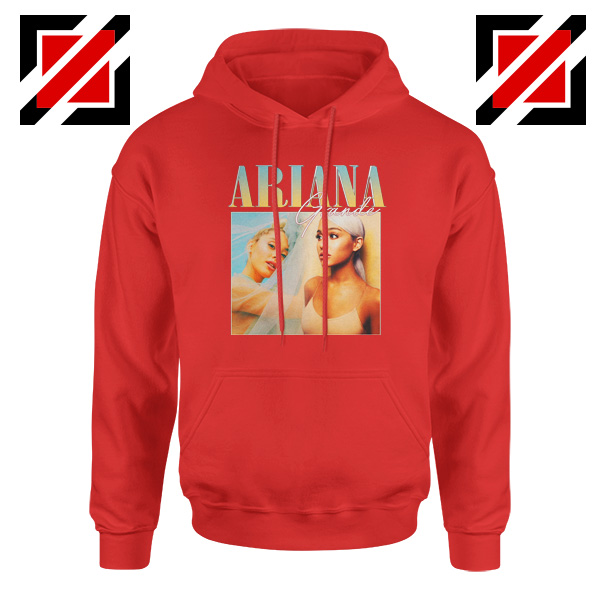 Ariana Grande 90s Red Hoodie
