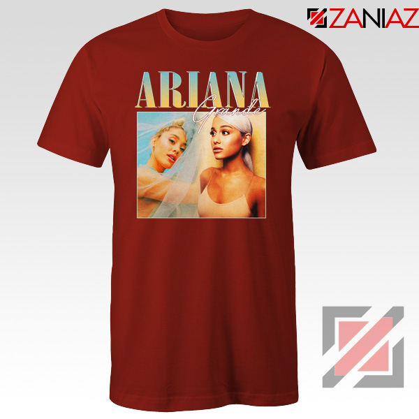 Ariana Grande 90s Red Tshirt