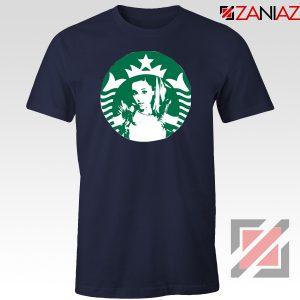 Ariana Grande Pop Music Navy Blue Tshirt
