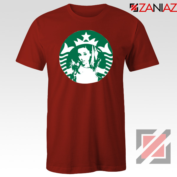 Ariana Grande Pop Music Red Tshirt