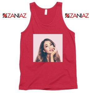 Ariana Grande Posters Red Tank Top
