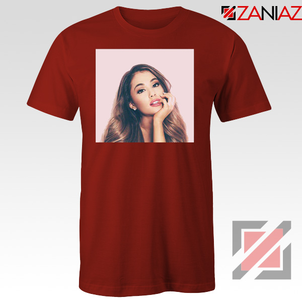 Ariana Grande Posters Red Tshirt