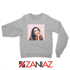 Ariana Grande Posters Sport Grey Sweater