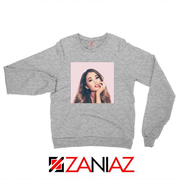 Ariana Grande Posters Sport Grey Sweater