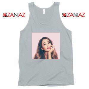 Ariana Grande Posters Sport Grey Tank Top