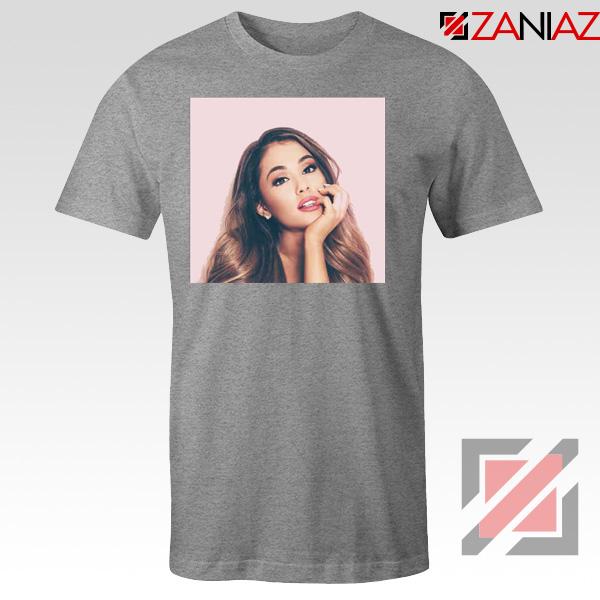 Ariana Grande Posters Sport Grey Tshirt