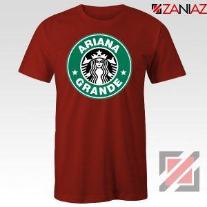 Ariana Grande Singer Red Tshirt