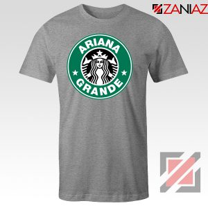 Ariana Grande Singer Sport Grey Tshirt