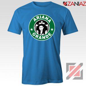 Ariana Grande Starbucks Parody Blue Tshirt