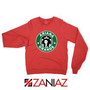 Ariana Grande Starbucks Parody Red Sweater