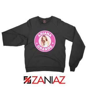 Ariana Grande Starbucks Pink Sweatshirt