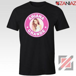 Ariana Grande Starbucks Pink Tshirt