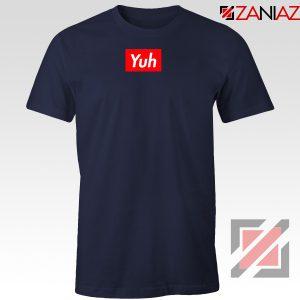 Ariana Grande Yuh Navy Blue Tshirt