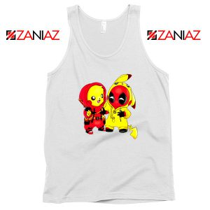 Baby Pikachu And Deadpool Tank Top