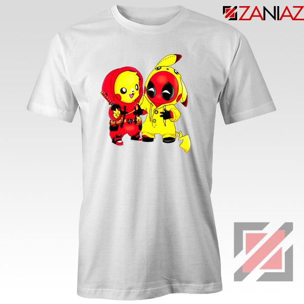 Baby Pikachu And Deadpool Tshirt