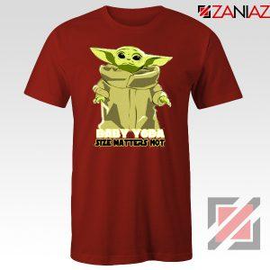 Baby Yoda Size Matters Not Tshirt