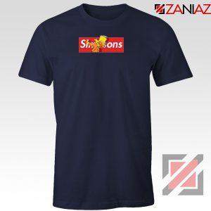 Bart Dub Supreme Navy Tshirt