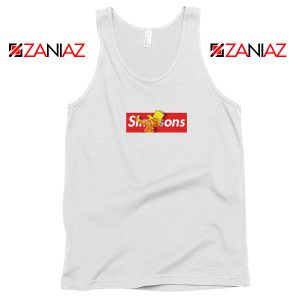 Bart Dub Supreme White Tank Top