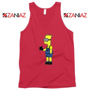 Bart Minion Simpson Tank Top