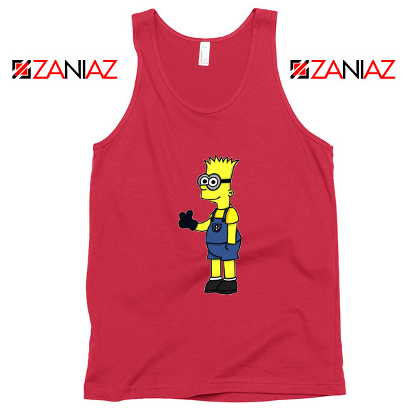 Bart Minion Simpson Tank Top