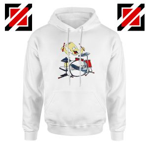 Bart Plays The Drums Hoodie