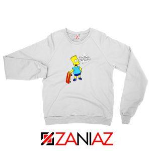 Bart Simpson Character Sweatshirt