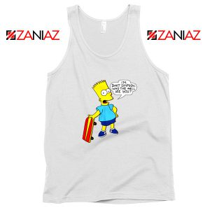 Bart Simpson Character Tank Top
