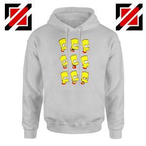 Bart Simpson Face Hoodie
