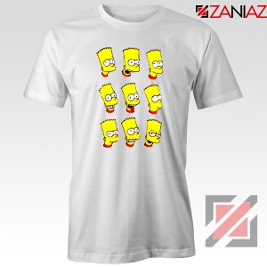 Bart Simpson Faces Tshirt