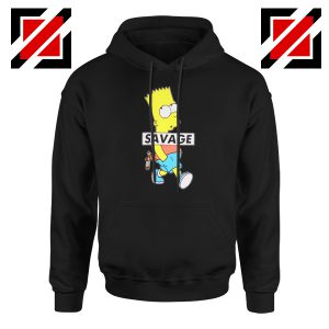 Bart Simpson Savage Hoodie
