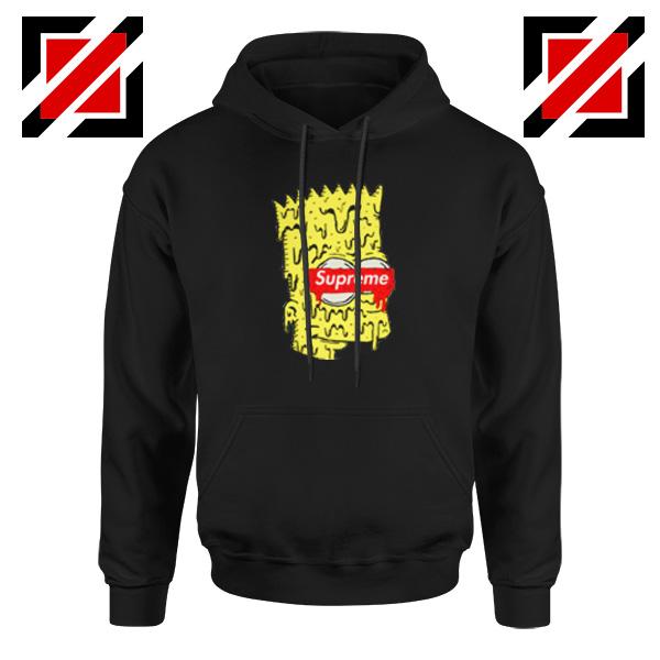 Bart Simpson Brand Parody Hoodie