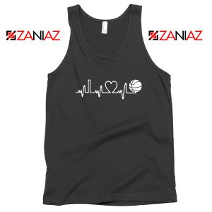 Basketball Heartbeat Tank Top