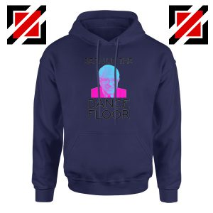 Bern Up The Dance Floor Navy Hoodie