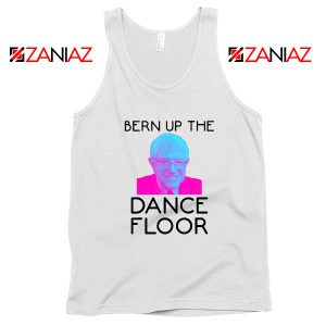 Bern Up The Dance Floor White Tank Top