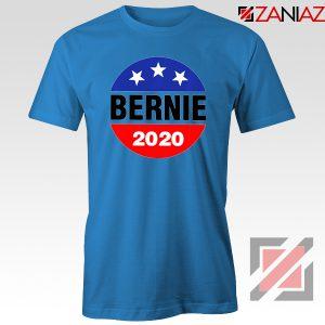 Bernie 2020 For President Blue Tshirt