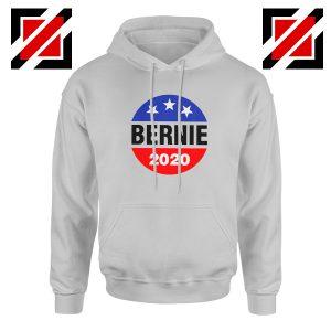 Bernie 2020 For President Grey Hoodie