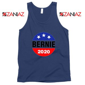 Bernie 2020 For President Navy Tank Top
