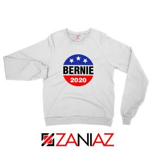 Bernie 2020 For President White Sweatshirt