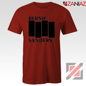 Bernie Sanders Black Flag Red Tshirt