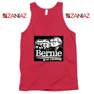 Bernie Sanders Communist Red Tank Top