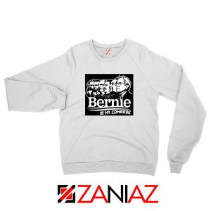 Bernie Sanders Communist White Sweater