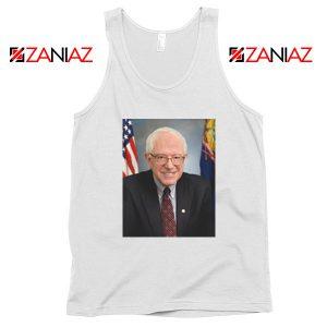 Bernie Sanders Senator White Tank Top