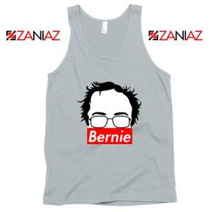 Bernie Supreme Silhouette Grey Tank Top