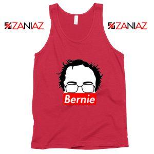 Bernie Supreme Silhouette Red Tank Top